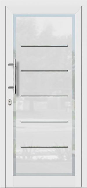 Hliníkové dvere so sklo-hliníkovou výplňou Evolution EV-951
