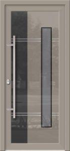 Hliníkové dvere so sklo-hliníkovou výplňou Evolution EV-955