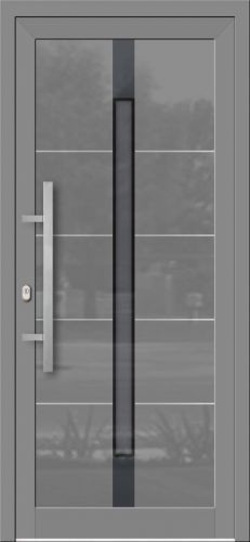 Hliníkové dvere so sklo-hliníkovou výplňou Evolution EV-956