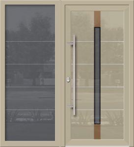 Hliníkové dvere Evolution EV-956-A1 so svetlíkom