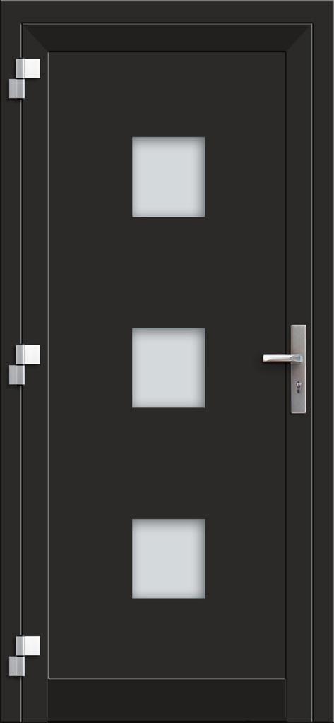 Hliníkové vchodové dvere EV-957 interiérový pohľad