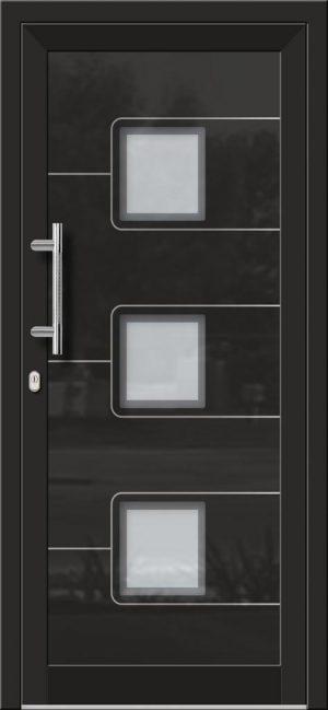 Hliníkové dvere so sklo-hliníkovou výplňou Evolution EV-957