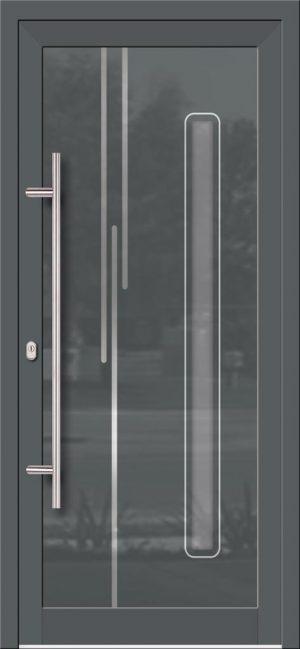 Hliníkové dvere so sklo-hliníkovou výplňou Evolution EV-959