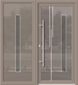 Hliníkové dvere Evolution EV-959-A2 so svetlíkom