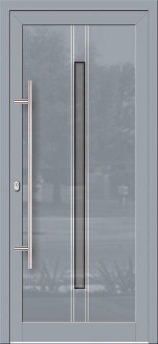 Hliníkové dvere so sklo-hliníkovou výplňou Evolution EV-960