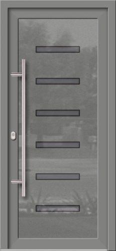 Hliníkové dvere so sklo-hliníkovou výplňou Evolution EV-962