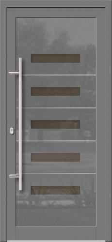 Hliníkové dvere so sklo-hliníkovou výplňou Evolution EV-963