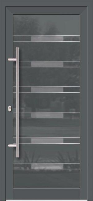 Hliníkové dvere so sklo-hliníkovou výplňou Evolution EV-964