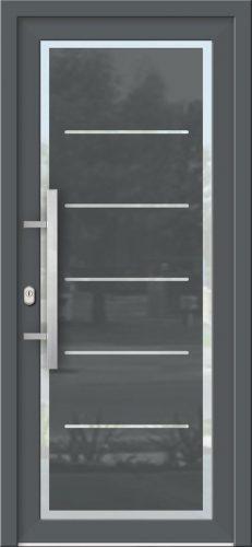 Hliníkové dvere so sklo-hliníkovou výplňou Evolution EV-968