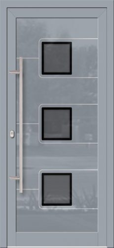 Hliníkové dvere so sklo-hliníkovou výplňou Evolution EV-969