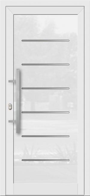 Hliníkové dvere so sklo-hliníkovou výplňou Evolution EV-970