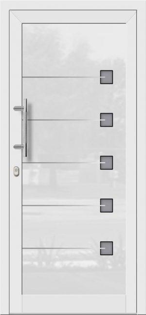 Hliníkové dvere so sklo-hliníkovou výplňou Evolution EV-971