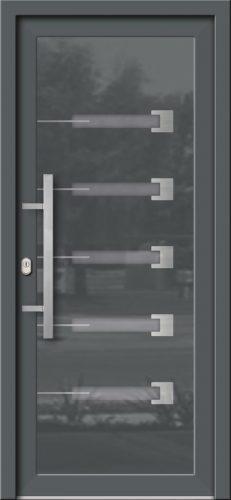 Hliníkové dvere so sklo-hliníkovou výplňou Evolution EV-972