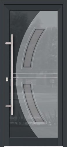Hliníkové dvere so sklo-hliníkovou výplňou Evolution EV-973