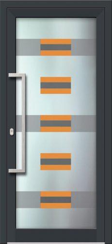 Hliníkové dvere s celosklenenou výplňou VV-850-GLW11 digitálne tlačené / striekané