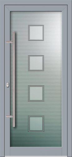 Hliníkové dvere s celosklenenou výplňou VV-850-GLW12 digitálne tlačené / striekané
