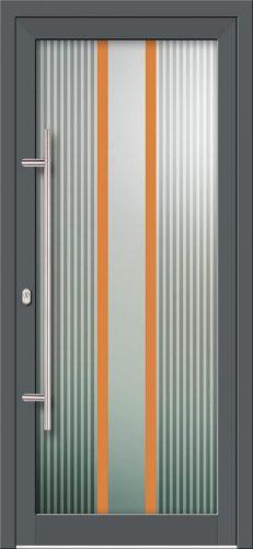 Hliníkové dvere s celosklenenou výplňou VV-850-GLW14 digitálne tlačené / striekané