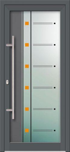 Hliníkové dvere s celosklenenou výplňou VV-850-GLW19 digitálne tlačené / striekané