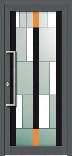 Hliníkové dvere s celosklenenou výplňou VV-850-GLW20 digitálne tlačené / striekané