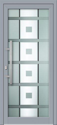 Hliníkové dvere s celosklenenou výplňou VV-850-GLW43 digitálne tlačené / striekané