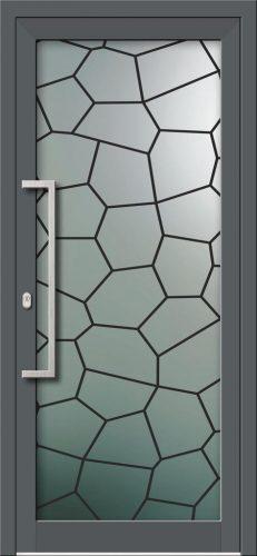 Hliníkové dvere s celosklenenou výplňou VV-850-GLW46 digitálne tlačené / striekané