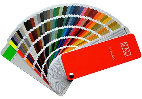 hliníkové dvere s výplňou evolution. farby a farebné vzory RAL