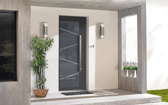 Vchodové hliníkové dvere Evolution na mieru