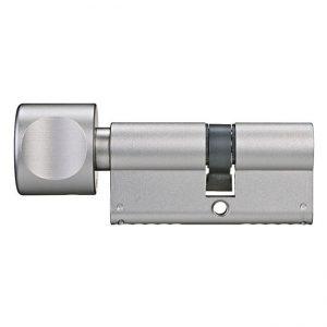 bezpečnostná vložka FAB 1002 s gombíkom pre hliníkové dvere