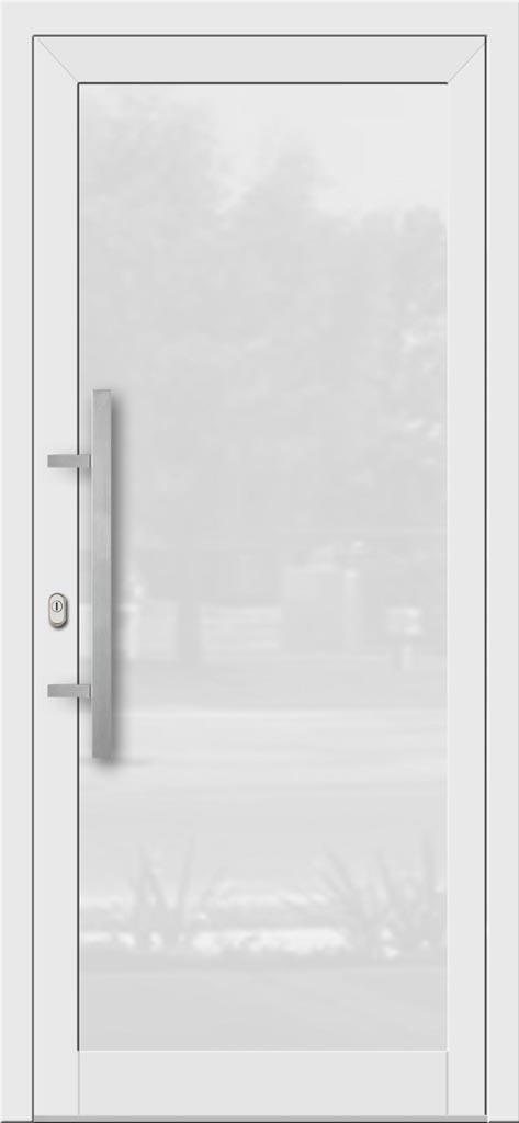 Hliníkové dvere so sklo-hliníkovou výplňou Evolution EV-949