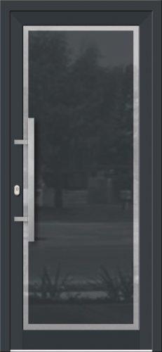 Hliníkové dvere so sklo-hliníkovou výplňou Evolution EV-975