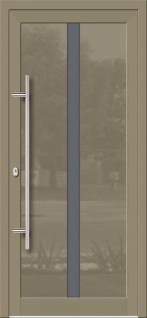 Hliníkové dvere so sklo-hliníkovou výplňou Evolution EV-976