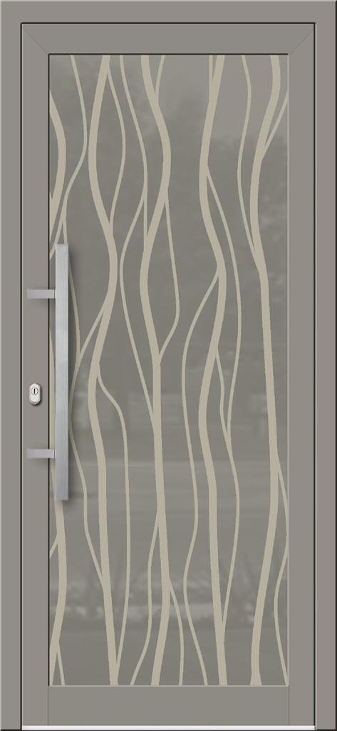 Hliníkové dvere so sklo-hliníkovou výplňou Evolution EV-977