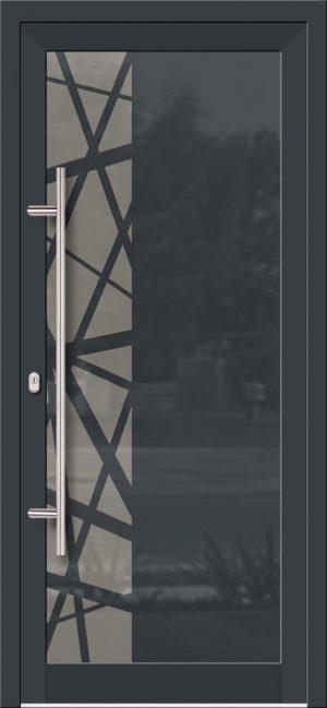 Hliníkové dvere so sklo-hliníkovou výplňou Evolution EV-978