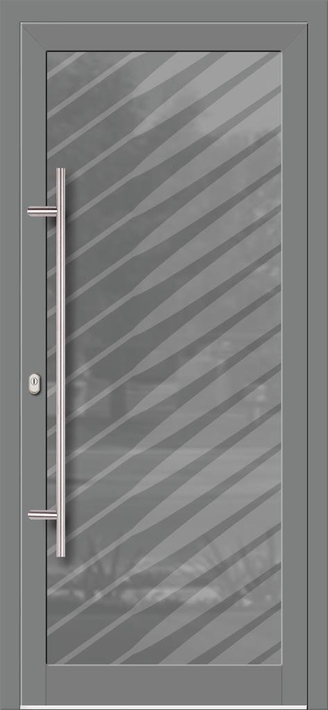 Hliníkové dvere so sklo-hliníkovou výplňou Evolution EV-980