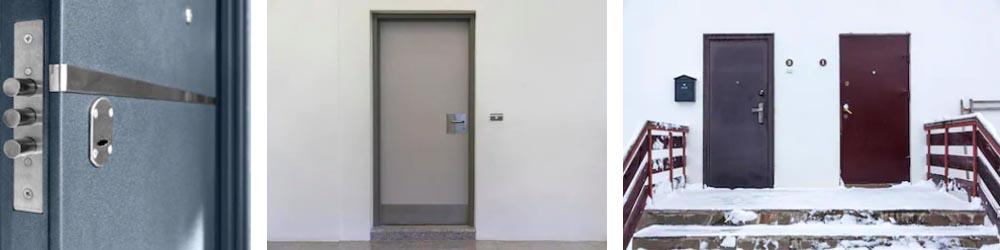Oceľové vchodové dvere