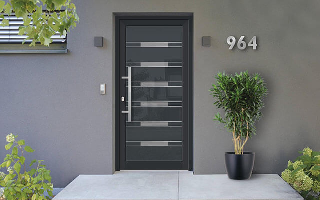 Čo treba vedieť o hliníkových dverách pri výbere vchodových dverí?