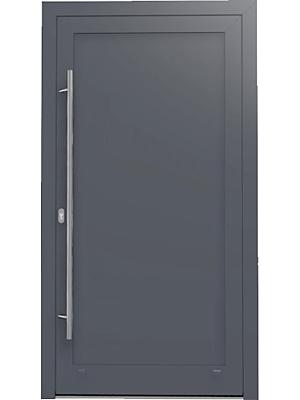 Hliníkové vchodové dvere MB-86SI do nízkoenergetického rodinného domu