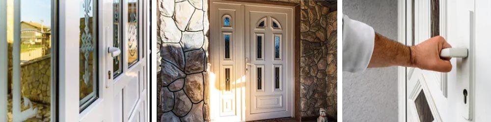 Príklad plastových dverí