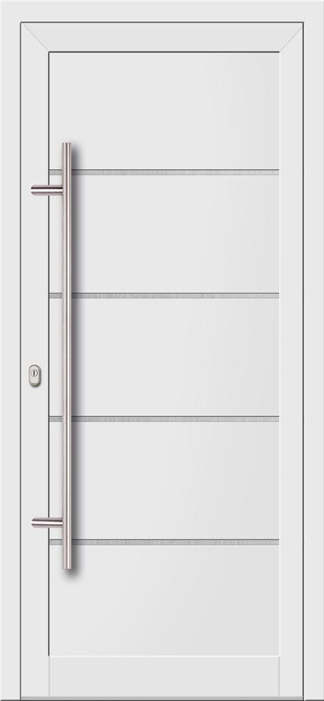 Vchodové hliníkové dvere s hliníkovou výplňou typu Ultra Trend