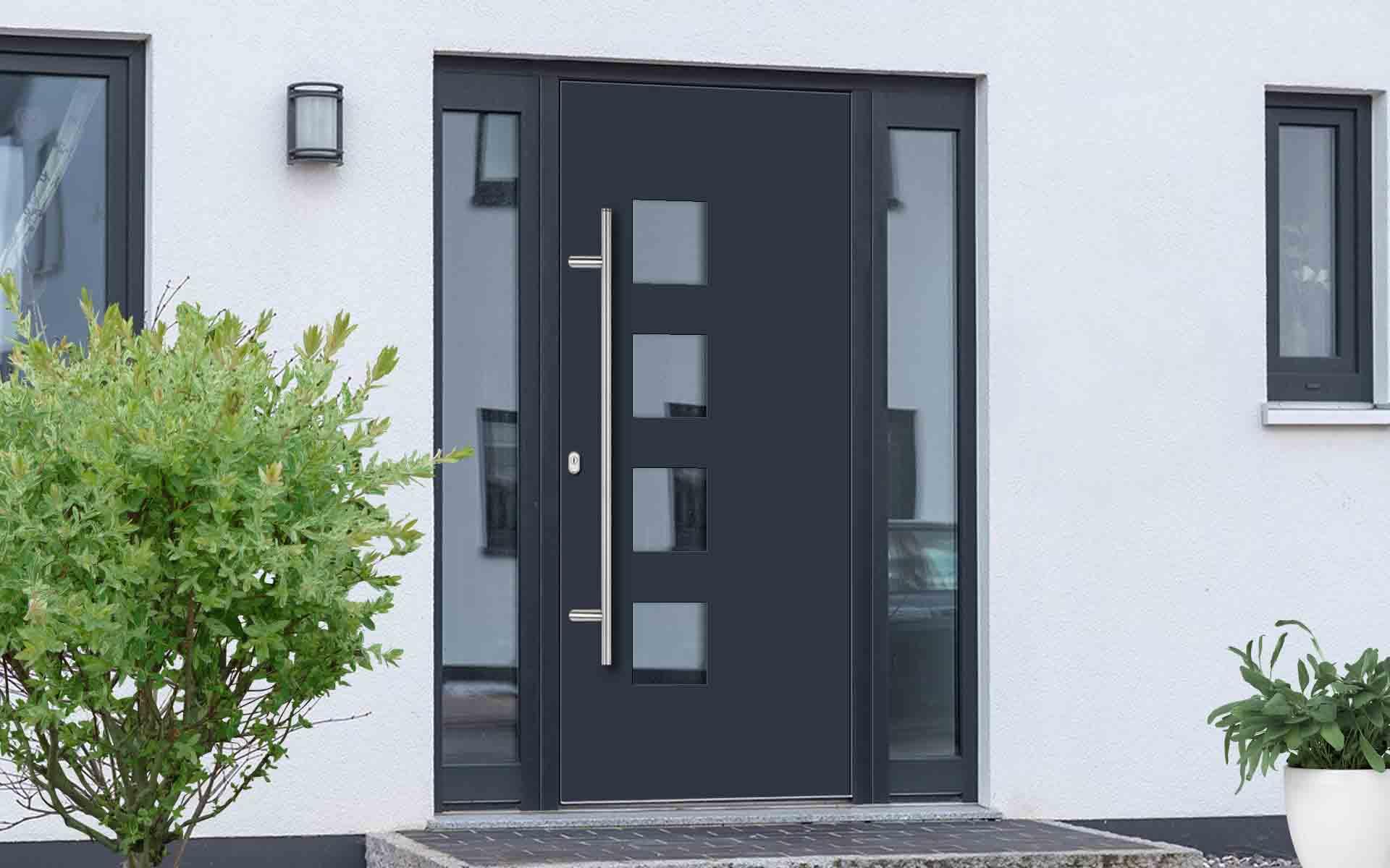 Aké vchodové dvere do domu si kúpiť?