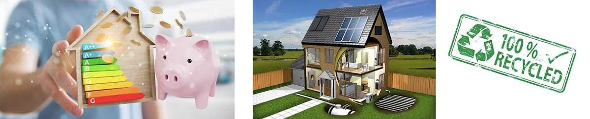 Energeticky úsporné vchodové dvere do domu