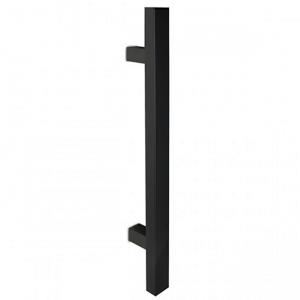 Madlo Convex 1031 čierne kolmé pre hliníkové vchodové dvere