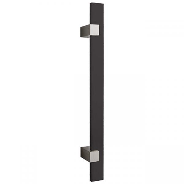 Madlo Convex 1059 čierne kolmé pre hliníkové vchodové dvere