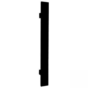 Madlo Convex 919 čierne kolmé pre hliníkové vchodové dvere