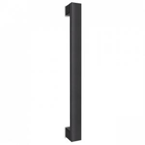 Madlo Convex 989 čierne kolmé pre hliníkové vchodové dvere