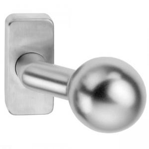 Madlo Playa K4 na hranatej rozete pre hliníkové vchodové dvere