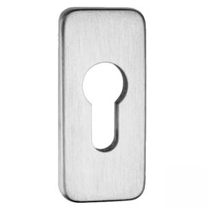 Bezpečnostná rozeta hranatá pre vchodové dvere