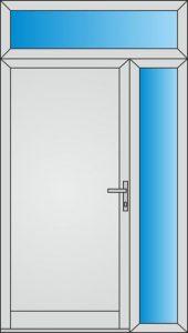 Svetlíky pre vchodové dvere do domu