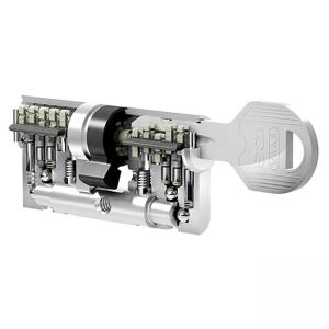 EVVA mechanická bezpečnostná vložka ICS do vchodových dverí