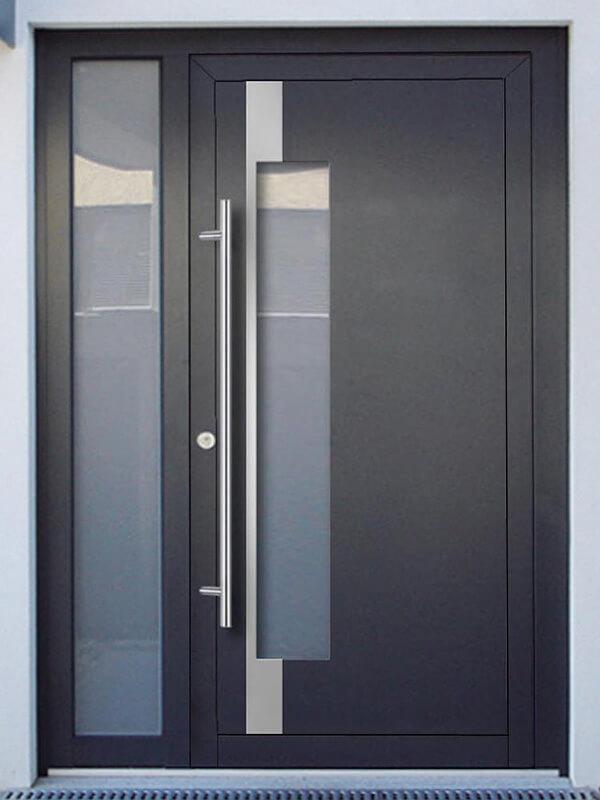 AV-449 hliníkové vchodové dvere s vloženou dvernou výplňou